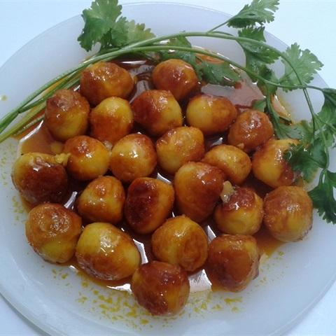 Trứng Cút Kho
